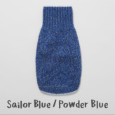 ルイスドッグ【louisdog】Cashmere Blend ailor Blue/Powder Blue