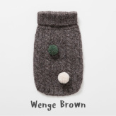 ルイスドッグ【louisdog】Cashmere Blend Sweater Wenge Brown