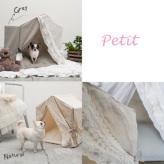 ルイスドッグ【louisdog】Peekaboo/Linen Secret Petit