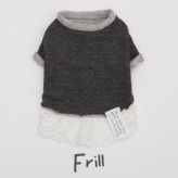 ルイスドッグ【louisdog】Organic Secret/Charcoal Frill