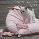 ルイスドッグ【louisdog】My Lounge Sofa Strawberry Milk