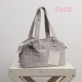 ルイスドッグ【louisdog】The Shoulder Bag/Organic Petit-Grey