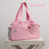 ルイスドッグ【louisdog】The Shoulder Bag/Organic Grand-Lolipop Pink