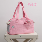 ルイスドッグ【louisdog】The Shoulder Bag/Organic Petit-Lolipop Pink