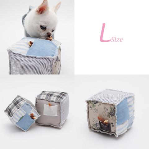 ルイスドッグ【louisdog】Sniff Sniff Toy Cube-L