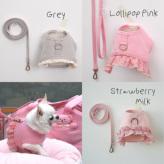 ルイスドッグ【louisdog】Organic Harness Set/Frills