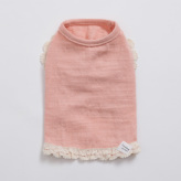 ルイスドッグ【louisdog】Oh! Cheeky Cheeky Pink Sleeveless