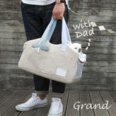 ルイスドッグ【louisdog】Tote Bag/Lin n Den Grand-Natural Linen