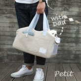 ルイスドッグ【louisdog】Tote Bag/Lin n Den Petit-Natural Linen