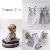 ルイスドッグ【louisdog】Tropea Top Grey/Grey Stripes