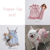 ルイスドッグ【louisdog】Tropea Top Red/Frill/Blue Stripes/Frill