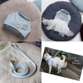 ルイスドッグ【louisdog】Lucky Blue Harness Set