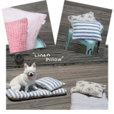 ルイスドッグ【louisdog】Linen Pillow