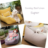 ルイスドッグ【louisdog】Sunday Bed/Linen Super