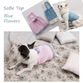 ルイスドッグ【louisdog】SoBe Top Blue Flowers