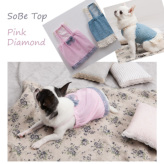 ルイスドッグ【louisdog】SoBe Top Pink Diamond
