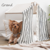 ルイスドッグ【louisdog】Peekaboo/Linen Stripes Grand