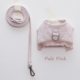 ルイスドッグ【louisdog】Linen Harness Set Pale Pink