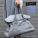 ルイスドッグ【louisdog】Greg Bag/Seersucker Super-Silver Linen