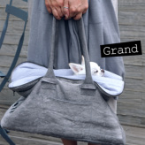 ルイスドッグ【louisdog】Greg Bag/Seersucker Grand-Silver Linen