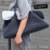 ルイスドッグ【louisdog】Greg Bag/Seersucker Super-Charcoal Oxford
