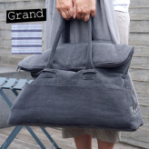 ルイスドッグ【louisdog】Greg Bag/Seersucker Grand-Charcoal Oxford