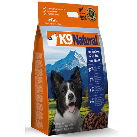K9ナチュラル ビーフ・フィースト(牛肉)3.6kg