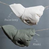 ルイスドッグ【louisdog】Padding Cape Coat Khaki/Pale Grey