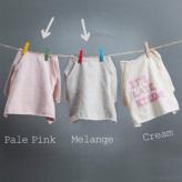 ルイスドッグ【louisdog】Milky Crop Tee Pale Pink/Melange Grey