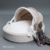 ルイスドッグ【louisdog】Irish Linen Cradle Natural