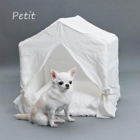 ルイスドッグ【louisdog】Peekaboo/Italian Linen Petit