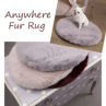 ルイスドッグ【louisdog】Anywhere Fur Rug