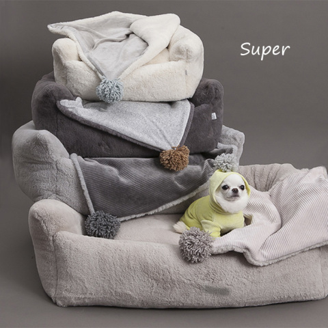 ルイスドッグ【louisdog】Furry Boom n Blanket Super