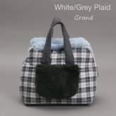 ルイスドッグ【louisdog】Furaround Bag/Check Grand-White/Grey Plaid