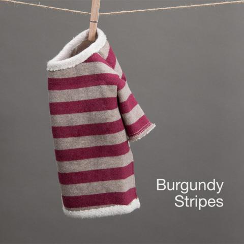 ルイスドッグ【louisdog】Fantastic Tee Burgundy Stripes