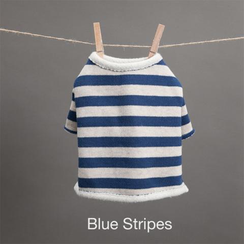ルイスドッグ【louisdog】Fantastic Tee Blue Stripes