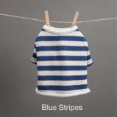 ルイスドッグ【louisdog】Fantastic Tee Blue Stripes