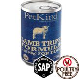 【PetKind】ペットカインド(缶詰)SAPラムトライプ 369g×12缶