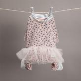 ルイスドッグ【louisdog】Sleepyhead TUTU Romper Nude Pink Flowers