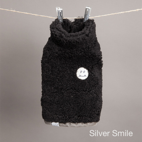 ルイスドッグ【louisdog】Ms. n Mr. Smiles Vest /BLK Edition Silver Smile