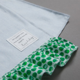 ルイスドッグ【louisdog】Saturday Blanket Soft Blue