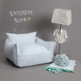 ルイスドッグ【louisdog】Saturday Sofa Soft Blue