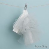 ルイスドッグ【louisdog】Organic Tulle Dress Auqa Grey