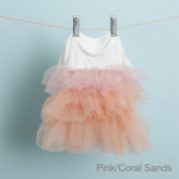 ルイスドッグ【louisdog】Organic Tulle Dress Pink/Coral Sands