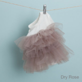 ルイスドッグ【louisdog】Organic Tulle Dress Dry Rose