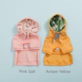 ルイスドッグ【louisdog】California Hoodie Amber Yellow/Pink Salt