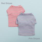 ルイスドッグ【louisdog】Tee n Sleeveless Red Stripes/Pink Stripes
