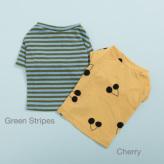 ルイスドッグ【louisdog】Tee n Sleeveless Cherry/Green Stripes