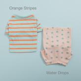 ルイスドッグ【louisdog】Tee n Sleeveless Water Drop/Orange Stripes