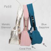 ルイスドッグ【louisdog】Oopie Sling Bag Petit-Blue Sapphire/Coral Pink